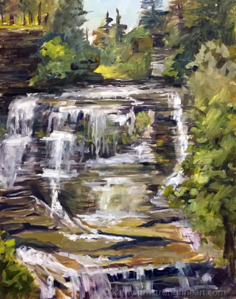 Upper Frontenac Falls