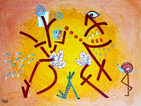 Dancing in the Garden of Eden