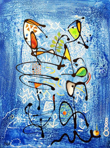 Cloe in Blue