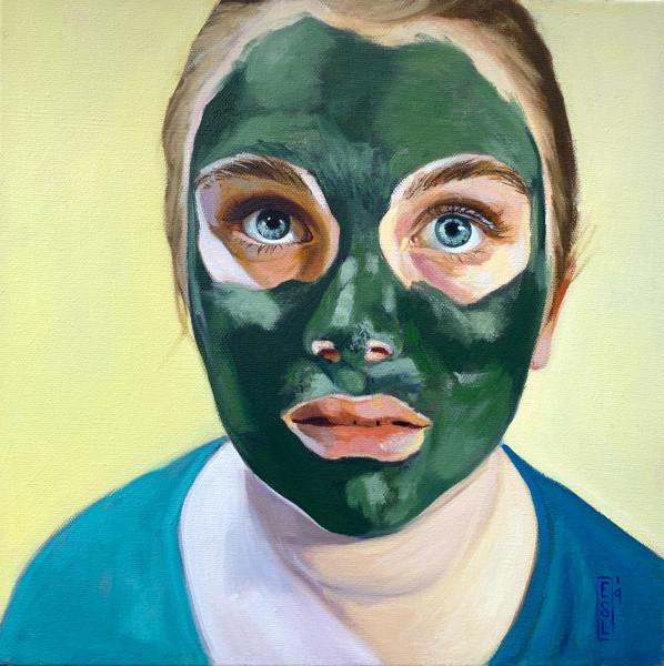 Algae Mask: Those Eyes