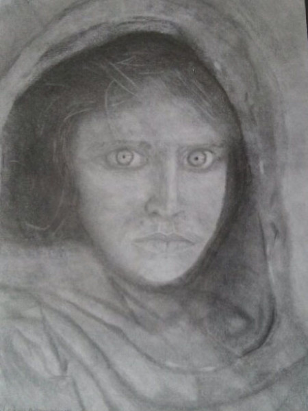 Steve McCurry's Afghan Girl 1985