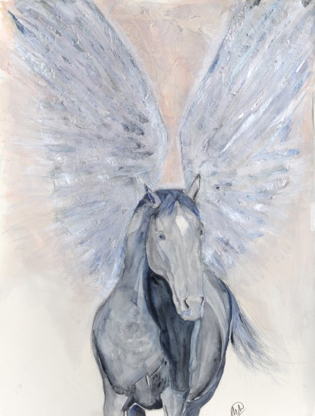 Winged horse 2