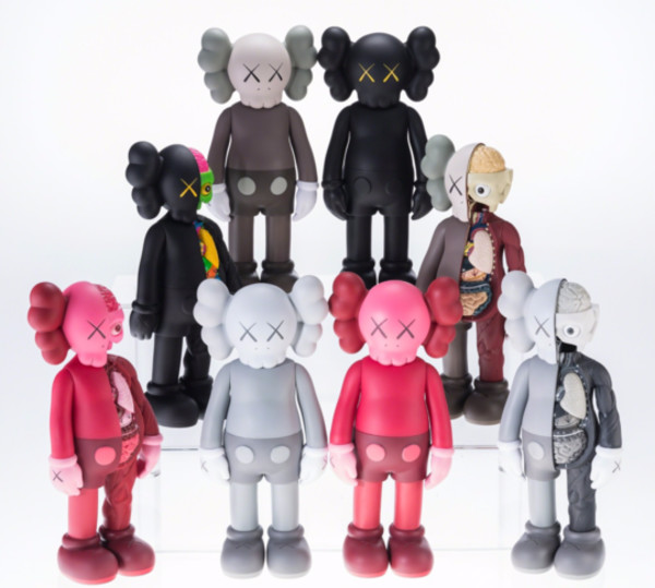 KAWS COMPANION - OPEN EDITION (FULL 8-PIECE SET)