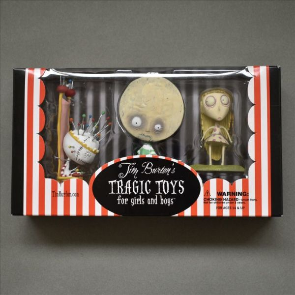 Tim Burton Tragic Toys for girls and boys
