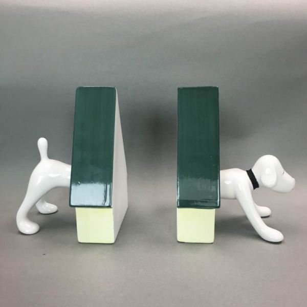 奈良美智狗狗書架Puppy Bookends