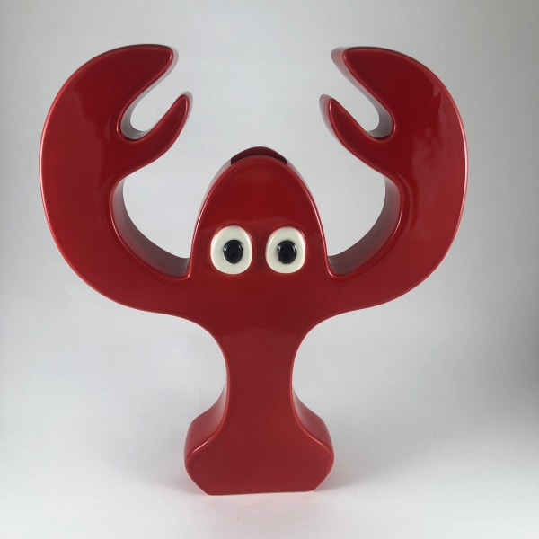 龍蝦花瓶 (紅) Lobster Vase (red)