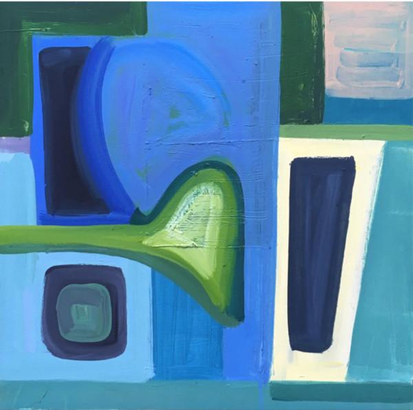 Blue Watery Shoals - Susan Morrison-Dyke