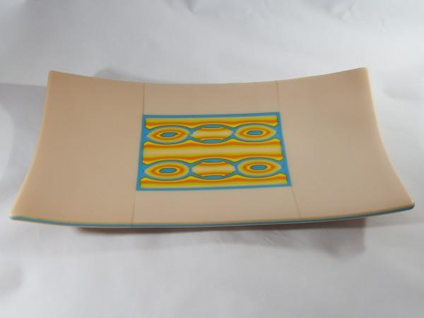 AJB-1 - Champagne Patternbar Plate