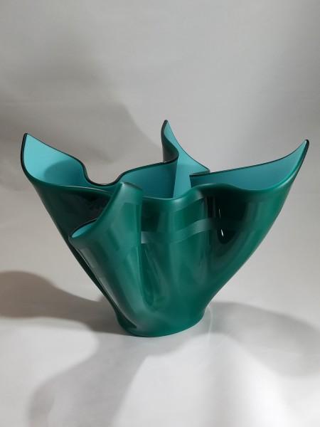 JB-29 - Turquoise Blue Drape Vessel