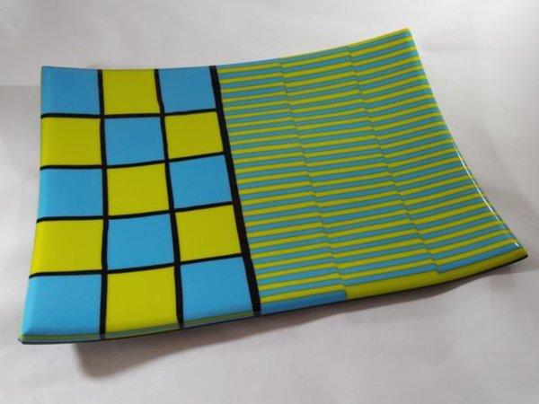AJB-4 - Large Checker board plate
