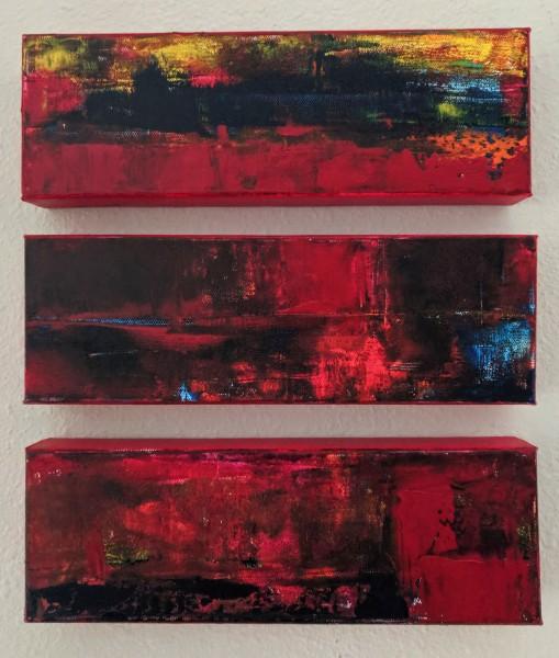 Untitled Triptych (#0177 A, B & C)