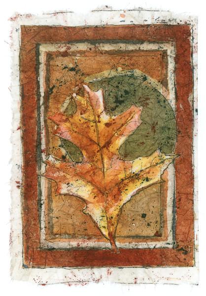 Batik Leaf #4