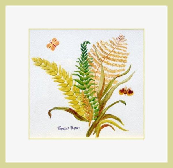 Ferns and Butterflies 2