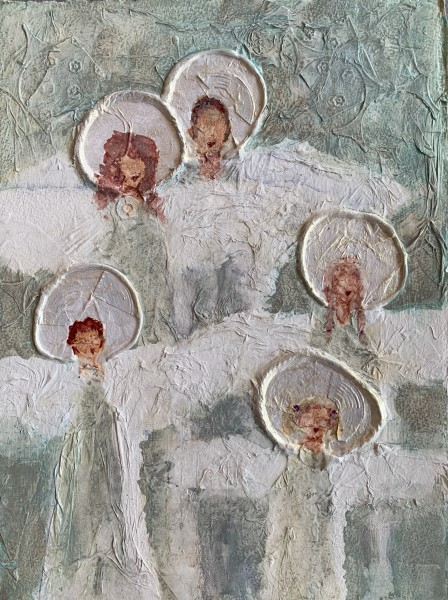 Angel Icon Family of Five