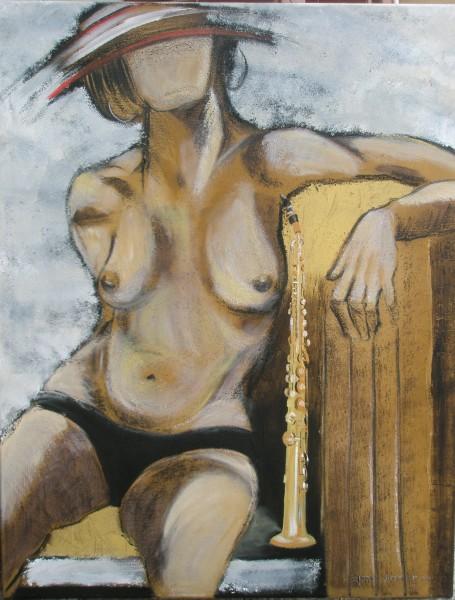 Sax Tenor Lady