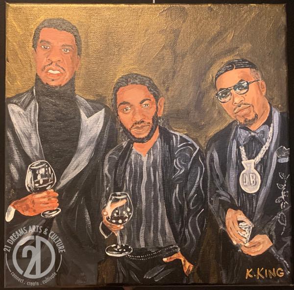 Jay Z - Kendrick - Nas