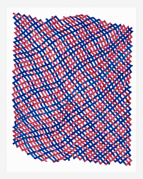 Woven Lines 10