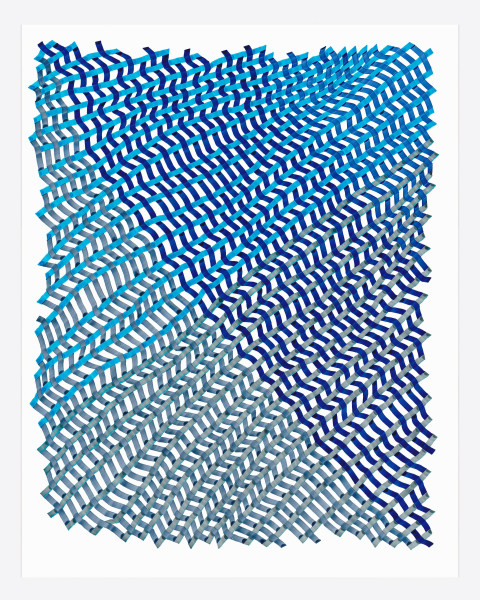 Woven Lines 12