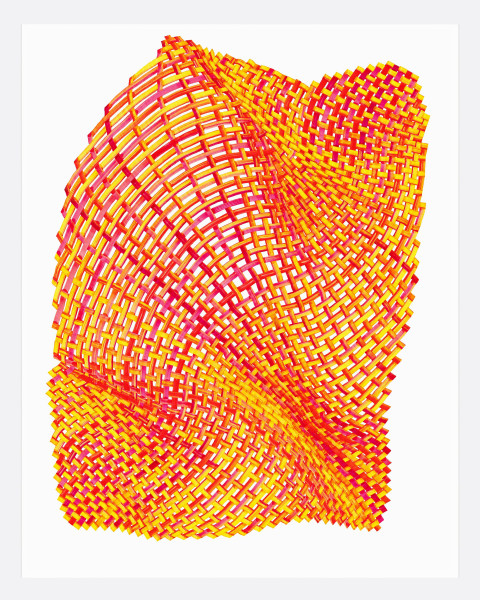 Woven Lines 24