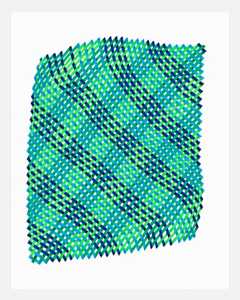 Woven Lines 25