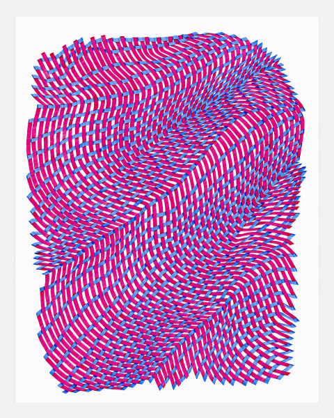 Woven Lines 30