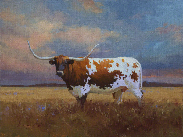 Strength in Beauty - The Longhorn