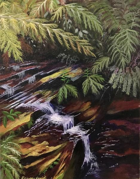 Bejewelled  (Leura Cascades series)