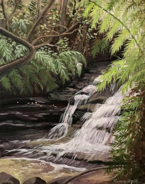 Ferny Falls  (Leura Cascades series)