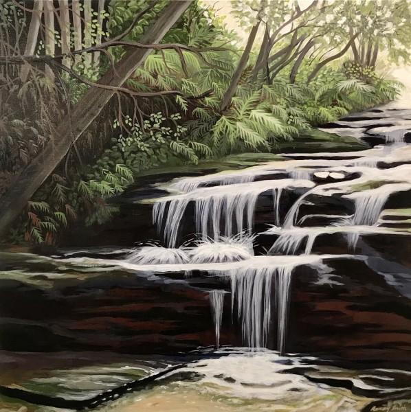 Glistening  (Leura Cascades series)