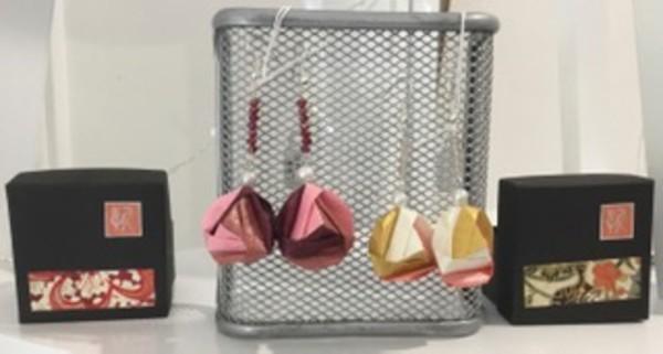 Origami Santa and tree box