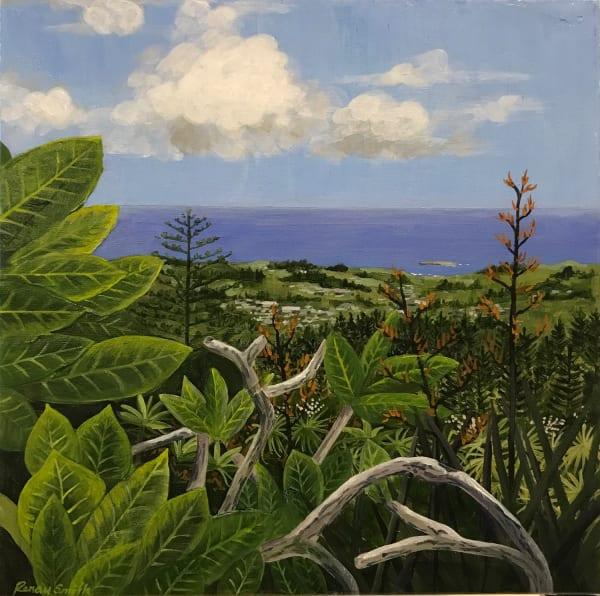 'View from Mt Pitt' – Norfolk Island series
