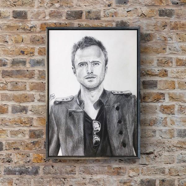 Portrait of Aaron Paul