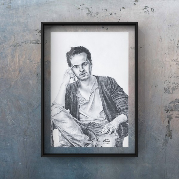 Portrait of Andrew Scott