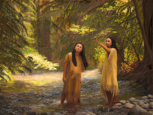 Women at Bird Creek