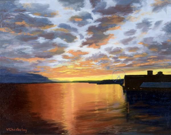 Sunset: Seattle Waterfront