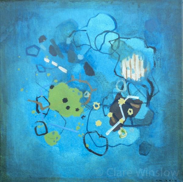 Topographica, blue