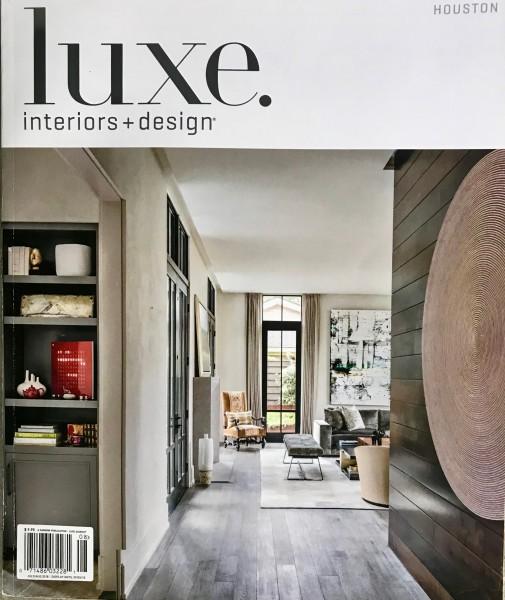 "Gunnerson, Tate, ""Bright Idea"", Luxe Interiors + Design, July/August 2018"