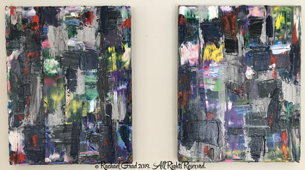 Two Abstract Panels