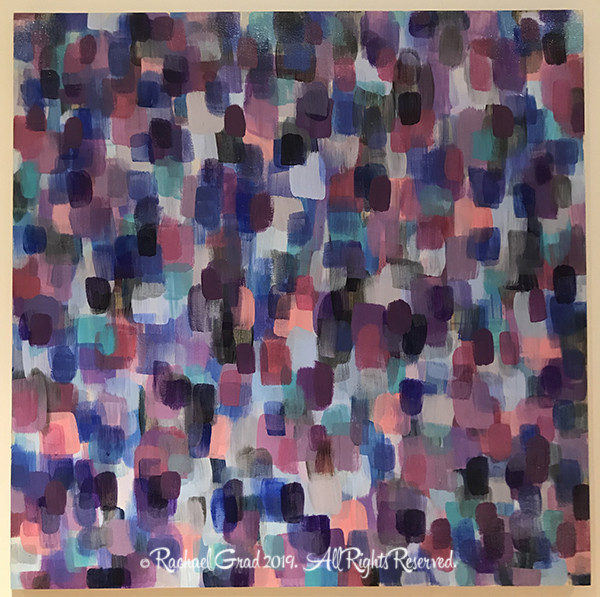 Dot S Large Purple and Blue 1