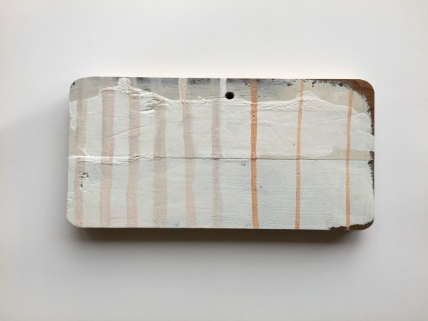 Plaid / grid light background, cream and peach lines