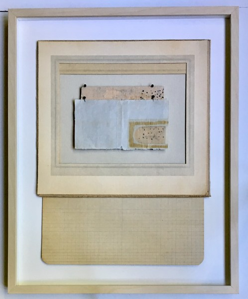 Frames forms, painting on board and  envelope window