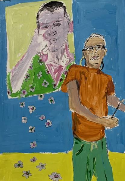 Self portraits to web 6