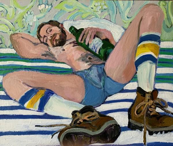 Acrylic on canvas 43