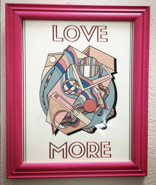 Love More - Framed Print