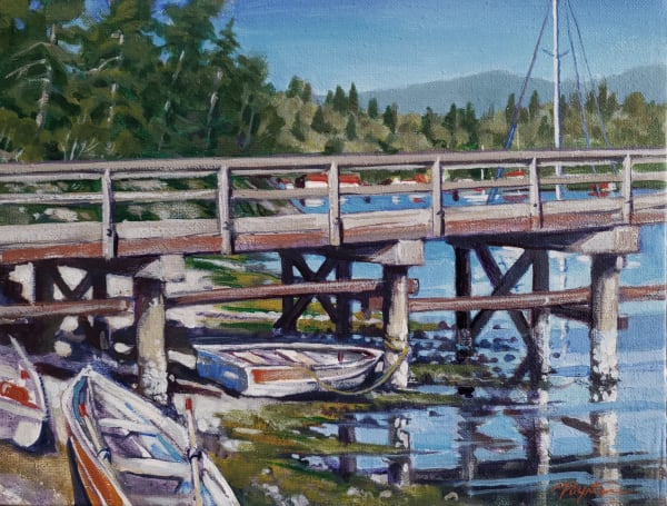 """3 boats - Porpoise Bay tidal"""