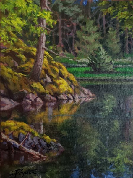 """Pond / Moss"" Coopers Green - Sunshine Coast B.C."