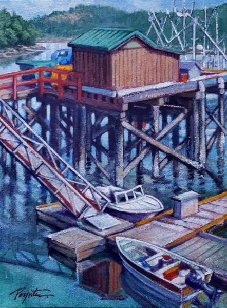 Wharf color - Madiera Park