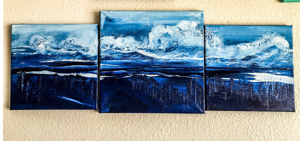The Swells Beyond The Trees...A Triptych