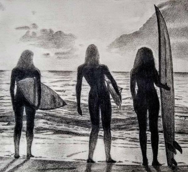 Taking  in the Tide