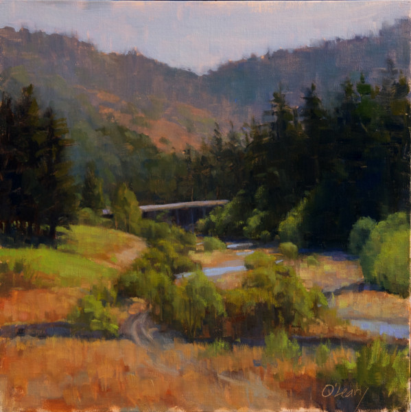 "Eel River in Morning Light (""Quick Draw"")"